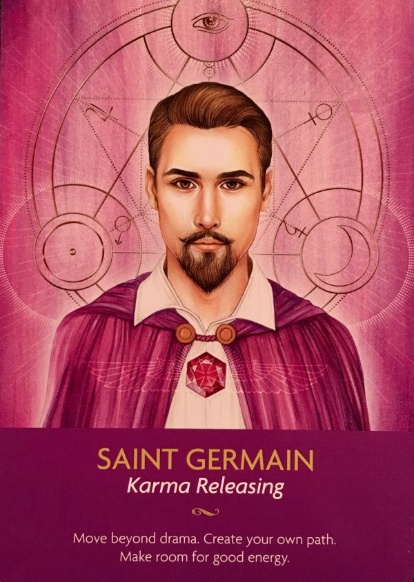 SAINT GERMAIN Karma Releasing - Divine Oracle Guidance